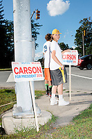 Ben Carson - Meet and Greet at Old Home Day - Londonderry, NH - 13 August 2015