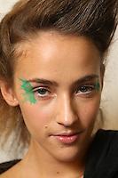 OCT 02 ISSEY MIYAKE backstage at Paris Fashion Week