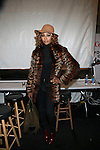 Zang Toi Backstage: Mercedes-Benz Fashion Week Fall 2014: Real Housewives of Atlanta Cynthia Bailey