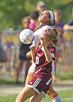 Womens JV Soccer vs. Brebeuf 8-31-13