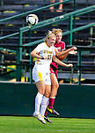 19 September 2010: University of Vermont Catamount midfielder/defender Alison Hemphill, a Senior from Morrisville, VT, in action against the Colgate University Raiders at Centennial Field in Burlington, Vermont. The Raiders scored a pair of second half goals two minutes apart to notch a 2-0 victory over the Lady Cats in non-conference women's soccer play. Mandatory Credit: Ed Wolfstein Photo