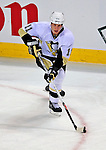 3 February 2009: Pittsburgh Penguins' center Jordan Staal in action against the Montreal Canadiens at the Bell Centre in Montreal, Quebec, Canada. The Canadiens defeated the Penguins 4-2. ***** Editorial Sales Only ***** Mandatory Photo Credit: Ed Wolfstein Photo