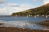Lochranza in the Isle of Arran, Scotland