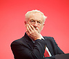 Labour Party Conference <br /> Day 4<br /> 30th September 2015 <br /> Brighton Centre, Brighton, East Sussex <br /> <br /> Jeremy Corbyn MP <br /> <br />  <br /> Photograph by Elliott Franks <br /> Image licensed to Elliott Franks Photography Services
