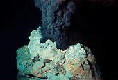 Black Smoker of a hydrothermal deep sea vent