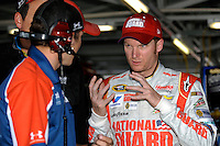 Dale Earnhardt,Jr. describes the handling of is car at Kansas.