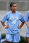 09 September 2011: North Carolina's Ranee Premji (CAN). The University of North Carolina Tar Heels defeated the University of North Carolina Greensboro Spartans 2-0 at Koskinen Stadium in Durham, North Carolina in an NCAA Division I Women's Soccer game.