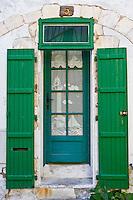 Door, Ile De Re, France.