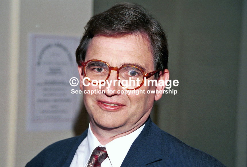 Brian Wilson, Labour MP, Britain, UK, Photograph taken at 1996 Labour Party Conference. Ref: 199610164.<br /> <br /> Copyright Image from Victor Patterson,<br /> 54 Dorchester Park, Belfast, UK, BT9 6RJ<br /> <br /> t1: +44 28 90661296<br /> t2: +44 28 90022446<br /> m: +44 7802 353836<br /> <br /> e1: victorpatterson@me.com<br /> e2: victorpatterson@gmail.com<br /> <br /> For my Terms and Conditions of Use go to<br /> www.victorpatterson.com