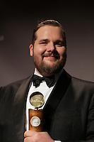 March, 23, 2014 - JUTRAS Awards Gala - Antoine Bertrand, Meilleur acteur :  Louis Cyr : l'homme le plus fort du Monde