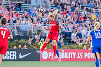 Boston, MA - Friday May 19, 2017: Amandine Henry during a regular season National Women's Soccer League (NWSL) match between the Boston Breakers and the Portland Thorns FC at Jordan Field.