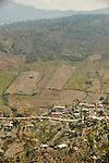 Deforested hillsides in the Guatemalan Highlands.
