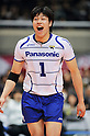 Kunihiro Shimizu (Panthers), MARCH 5, 2011 - Volleyball : 2010/11 Men's V.Premier League match between Toyoda Gosei Trefuerza 1-3 Panasonic Panthers at Tokyo Metropolitan Gymnasium in Tokyo, Japan. (Photo by AZUL/AFLO).