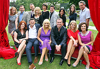 05/08/'10  The new season of stars pictured  at the launch of RTE's new season winter schedule at Montrose this afternoon...Picture Colin Keegan, Collins, Dublin.