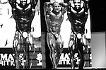 Mark Dugdale on stage at the finals for the 2009 Olympia 202 competition in Las Vegas.