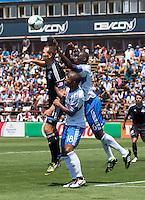 Santa Clara, California -Saturday, May 4 2013: San Jose Earthquakes and Montreal Impact game ended a 2-2 draw at Buck Shaw Stadium