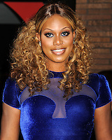 NEW YORK CITY, NY, USA - NOVEMBER 10: Laverne Cox arrives at the 2014 Glamour Women Of The Year Awards held at Carnegie Hall on November 10, 2014 in New York City, New York, United States. (Photo by Celebrity Monitor)