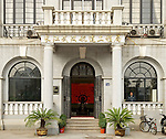 Main Entrance To The Holt Property, The Bund, Hankou (Hankow).
