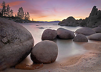 Winter Sunset, Sand Harbor