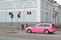 Helsinki, Finlandia.Taxi