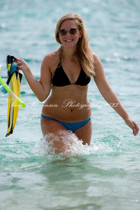Jessica Gill<br /> Honeymoon Beach<br /> St. John, U.S. Virgin Islands