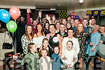 40th Birthday : Yvonne Kerins, Ballyduff celebrating her surprise birthday party at Lowe's Bar, Ballyduff on Saturday night last with family & friends.
