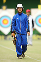 Kaori Kawanaka (JPN), .April 22, 2012 - Archery : .Archery Japan National Team Selection match for The World Cup Ogden 2012 .at JISS Archery Field, Tokyo, Japan. .(Photo by Daiju Kitamura/AFLO SPORT) [1045]
