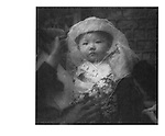 Veiled Infant, China. 1994