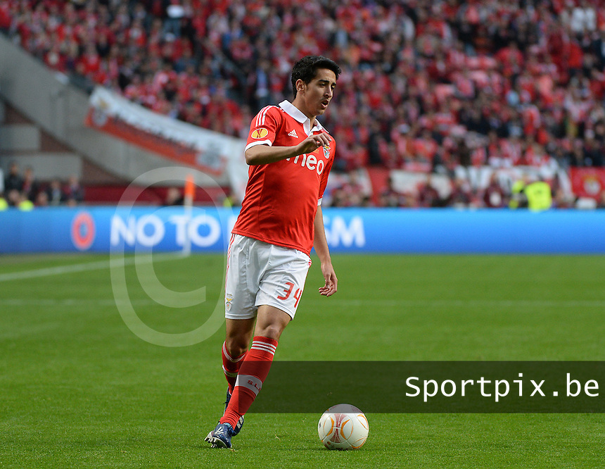 Benfica Lissabon - Chelsea FC : Andre Almeida.foto DAVID CATRY / Nikonpro.be