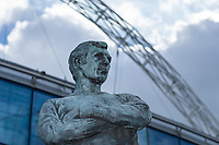 A detail shot of the Bobby Moore statue outside Wembley Stadium        <br /> <br /> <br /> Photographer Craig Mercer/CameraSport<br /> <br /> Emirates FA Cup Semi-Final - Chelsea v Tottenham Hotspur - Saturday 22nd April 2017 - Wembley Stadium - London<br />  <br /> World Copyright &copy; 2017 CameraSport. All rights reserved. 43 Linden Ave. Countesthorpe. Leicester. England. LE8 5PG - Tel: +44 (0) 116 277 4147 - admin@camerasport.com - www.camerasport.com