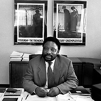 Cyril Ramaphosa, Secretary General of the ANC (African National Congress).