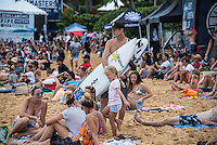 BANZAI PIPELINE, Oahu/Hawaii (Sunday, December 18, 2016) Bede Durbidge (AUS) - The Billabong Pipe Masters in Memory of Andy Irons, the final stop on the 2016  World Championship Tour (CT) was called on this morning in classy 4'-5' foot North - North East swell. The swell direction favoured Backdoor more than Pipeline with most of the waves ridden Backdoor.<br /> <br /> It was a day of upsets with one of the favourites and world #2 Gabriel Medina losing in Round 3 while tour veteran Kai Otten not only lost in the same round but failed to requalify and dropped off the WCT tour. <br /> Photo: joliphotos