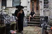 Brooklyn, New York<br /> October 31, 2013<br />  <br /> Halloween in Park Slope.