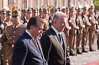 Tajik president Emomali Rahmon visits Pal Schmitt