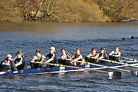 084 .OSI-McLennan .W.IM2.8+ .Osiris. Wallingford Head of the River. Sunday 27 November 2011. 4250 metres upstream on the Thames from Moulsford railway bridge to Oxford Universitiy's Fleming Boathouse in Wallingford. Event run by Wallingford Rowing Club..