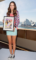 Dolly Magazine Model Search 2012 , Winner Kirsty Thatcher , MCA Quayside Sydney.9th July 2012. (c) TitoMedia.com