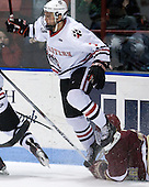 Anthony Bitetto (Northeastern - 7) - The Northeastern University Huskies defeated the visiting Boston College Eagles 2-1 on Saturday, February 19, 2011, at Matthews Arena in Boston, Massachusetts.