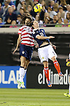 09 February 2012: Yael Averbuch (USA) (25) and Jane Ross (SCO) (13). The United States Women's National Team played the Scotland Women's National Team at EverBank Field in Jacksonville, Florida in a women's international friendly soccer match. The U.S. won the game 4-1.