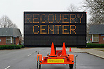 Dec. 8, 2012 - Seaford  New York, U.S. - Cedar Creek Park is a Hurricane Sandy Mega Recovery Center. The park has wide range of services from FEMA, Red cross, insurance agencies, and offers laundry service and showers to Long Island victims of Hurricane Sandy, which caused major wind and flood dmamge, and wiidespread loss of power, on  Long Island late October 2012.