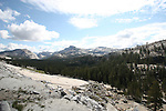 Yosemite Natioanl Park in the summer. Yosemite Falls, Half Dome, View From Glacier Point and views from hwy 120 crain Flat to Mono Lake.