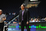 Ole Miss Lady Rebels head coach Brett Frank vs. Mississippi Valley State at the C.M. &quot;Tad&quot; Smith Coliseum in Oxford, Miss. on Tuesday, November 27, 2012.