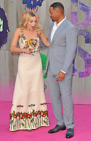 Margot Robbie &amp; Will Smith at the &quot;Suicide Squad&quot; European film premiere, Odeon Leicester Square cinema, Leicester Square, London, England, UK, on Wednesday 03 August 2016.<br /> CAP/CAN<br /> &copy;CAN/Capital Pictures /MediaPunch ***NORTH AND SOUTH AMERICAS ONLY***
