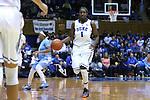 01 March 2015: Duke's Elizabeth Williams. The Duke University Blue Devils hosted the University of North Carolina Tar Heels at Cameron Indoor Stadium in Durham, North Carolina in a 2014-15 NCAA Division I Women's Basketball game. Duke won the game 81-80.