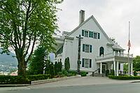 Alaska Governor's mansion, downtown  Juneau, Alaska