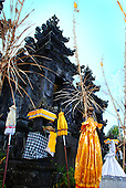 Front of the Puri Agung Temple in Bali, Indonesia.