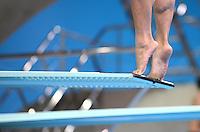 Olympia 2012 London   Aquatics Centre  28.07.2012 Feature Springen vom 3-Meter-Brett