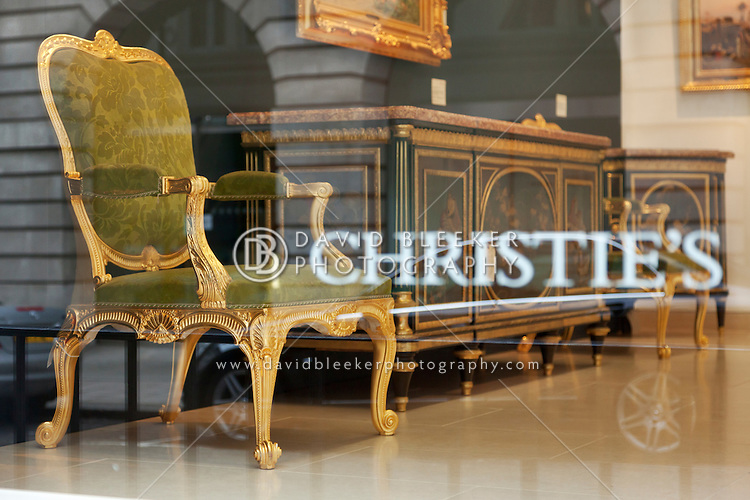 Christie 39 s auction house showroom david bleeker photography for Furniture auctions london