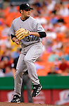 13 June 2006: Josh Fogg, pitcher for the Colorado Rockies, on the mound against the Washington Nationals at RFK Stadium, in Washington, DC. The Rockies defeated the Nationals 9-2 in the second game of the four-game series...Mandatory Photo Credit: Ed Wolfstein Photo..
