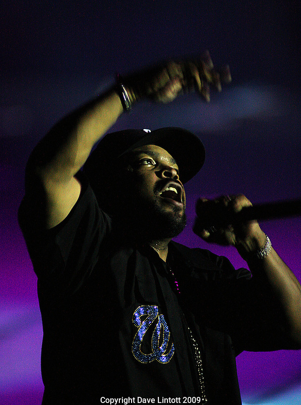 Ice Cube..Snoop Dogg live at TSB Bank Arena, Wellington. 27 October 2008. Photo: Dave Lintott
