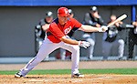 2 March 2011: Washington Nationals third baseman Ryan Zimmerman in Spring Training action against the Florida Marlins at Space Coast Stadium in Viera, Florida. The Nationals defeated the Marlins 8-4 in Grapefruit League action. Mandatory Credit: Ed Wolfstein Photo